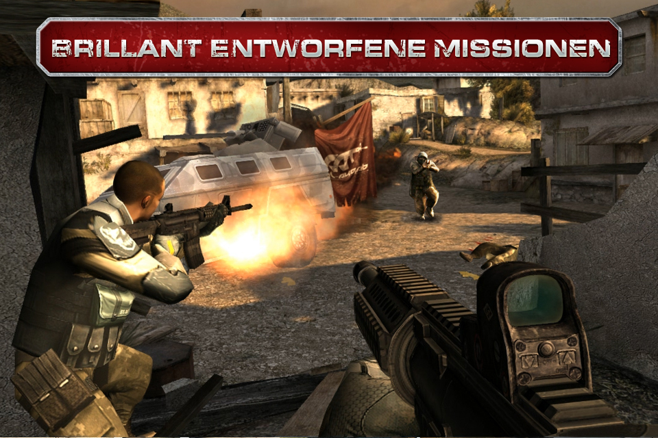 Modern Combat 3: Fallen Nation iPhone, iPad Screenshot